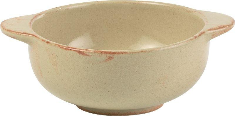 Rustico llama Lugged cuencos de sopa 13cm / 45cl