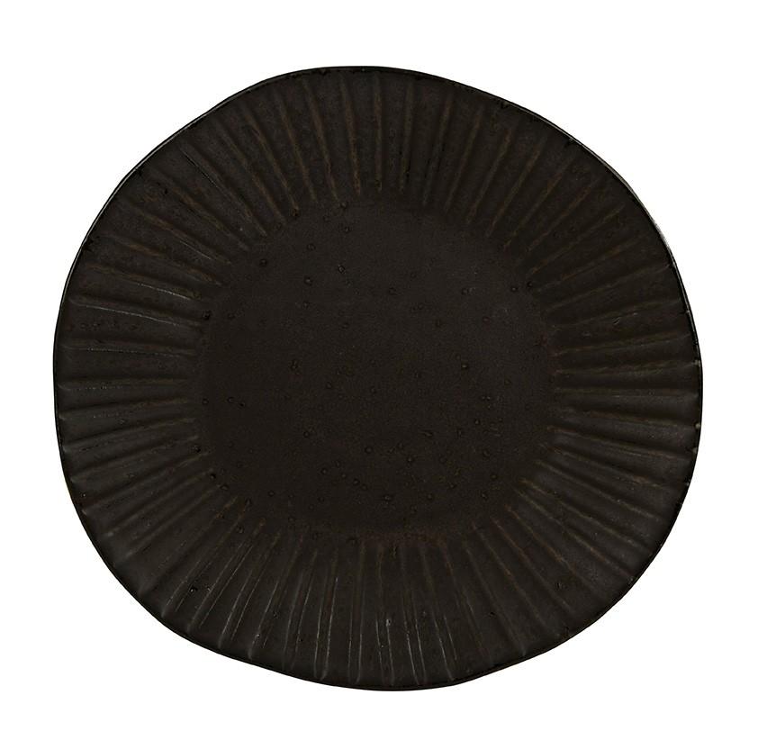 Rustico Impresiones Flint 28.5cm placa de cena