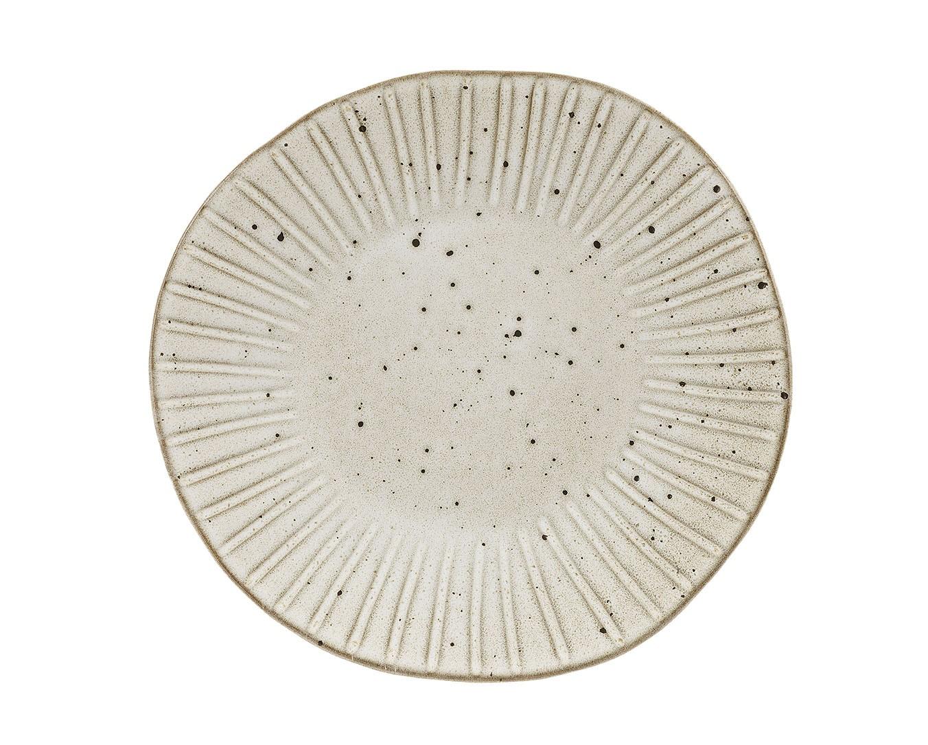 Rustico Impresiones Oyster Cena 28.5cm Plate
