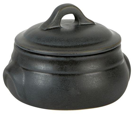 Rustico Carbon Bellied Casserole 11.5 x 6cm/42.5cl