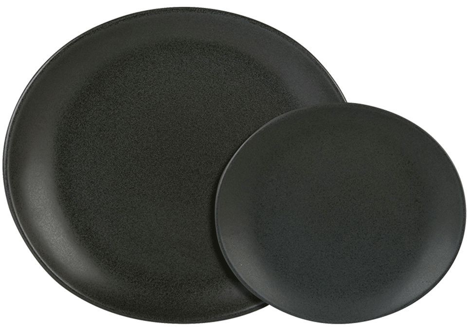 Rustico Bistro carbono oval 29.5cm Plate