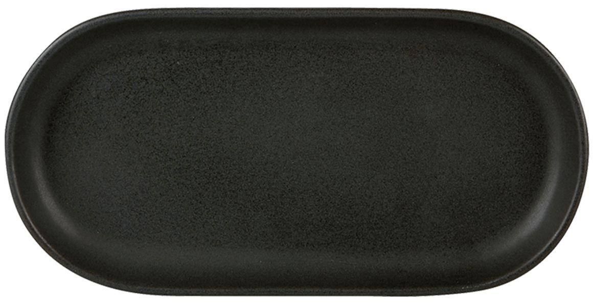 Bandeja oval de carbono Rustico 30x 15cm