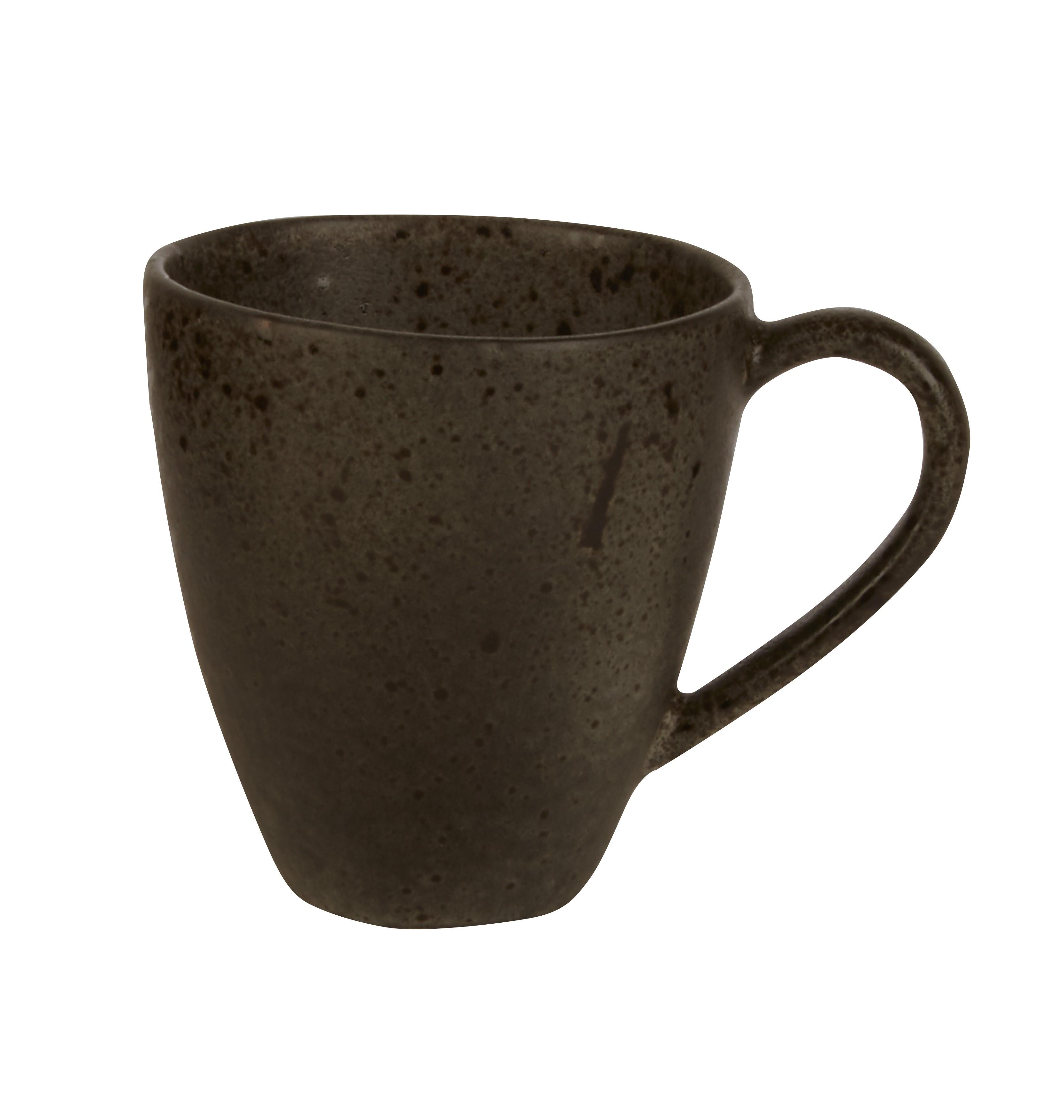 Rustico Negro Taza Roca de Hierro 45cl / 15 oz