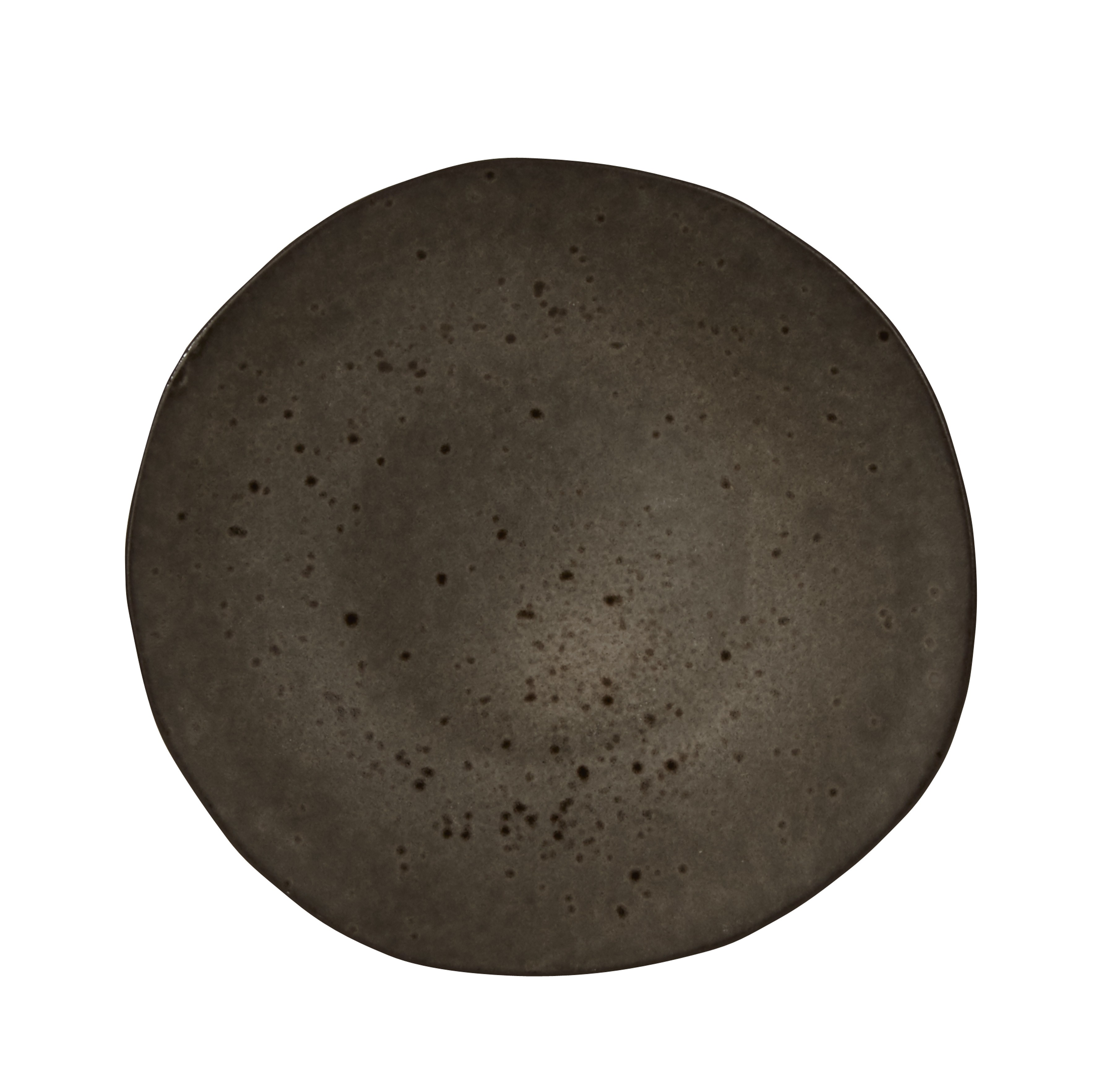 Rustico Black Ironstone Side Plate 16cm
