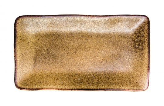 Rustico Natura placa rectangular de 27,5 x 15,5 cm
