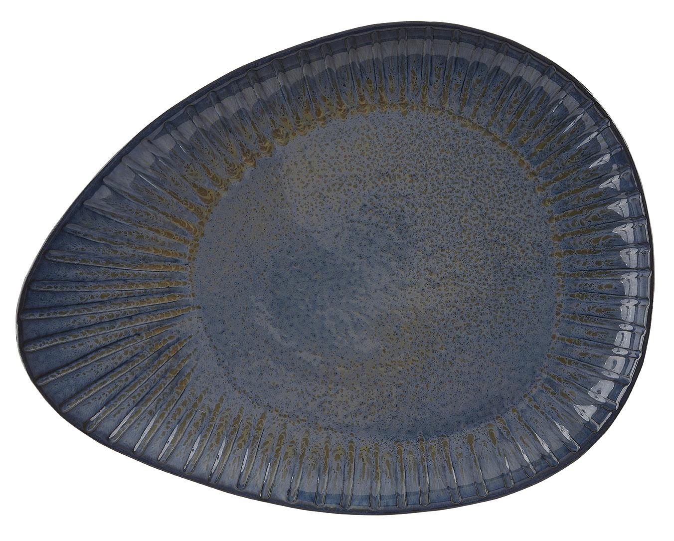 Rustico Impresiones Egeo oval 34cm Plate