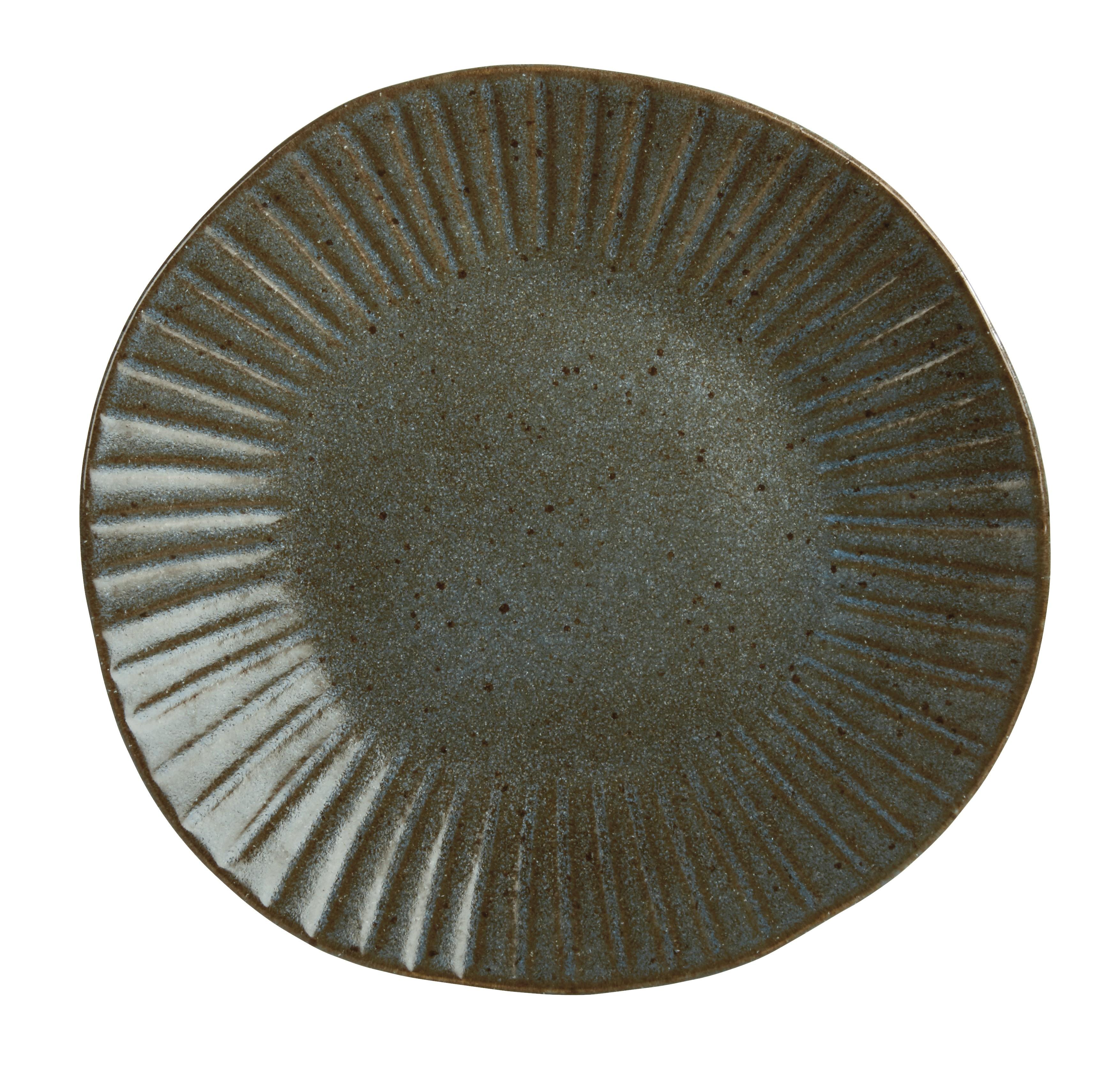 Rustico Impresiones Helecho 28.5cm placa de cena