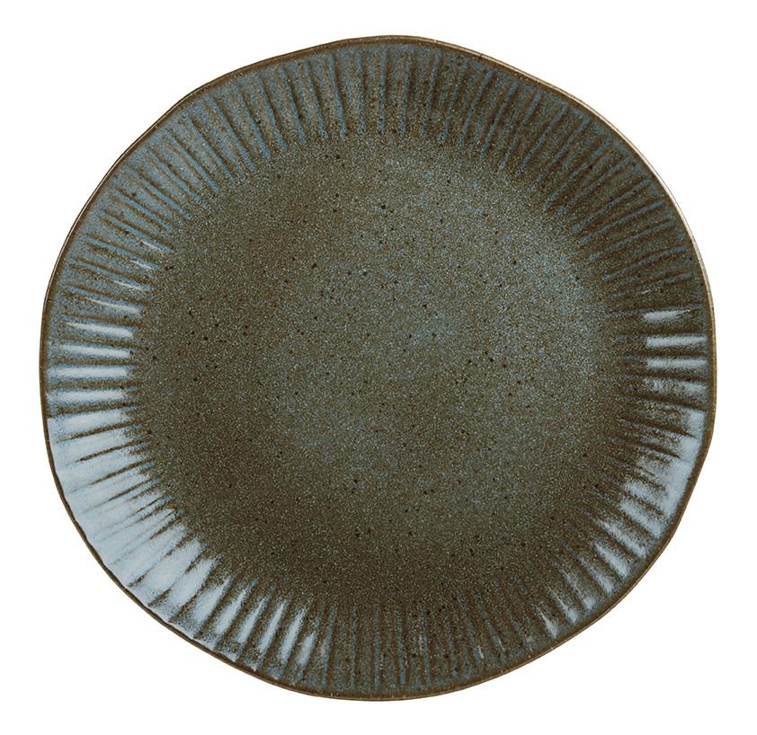 Rustico Impresiones Helecho cargador 31cm Plate