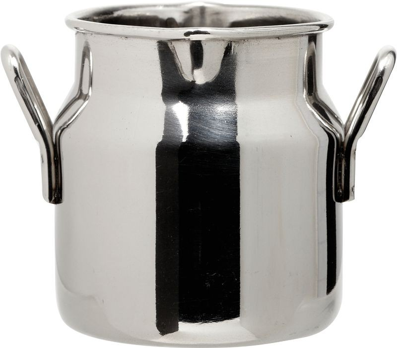 Stainless Steel Mini Milk Churns 2.5oz