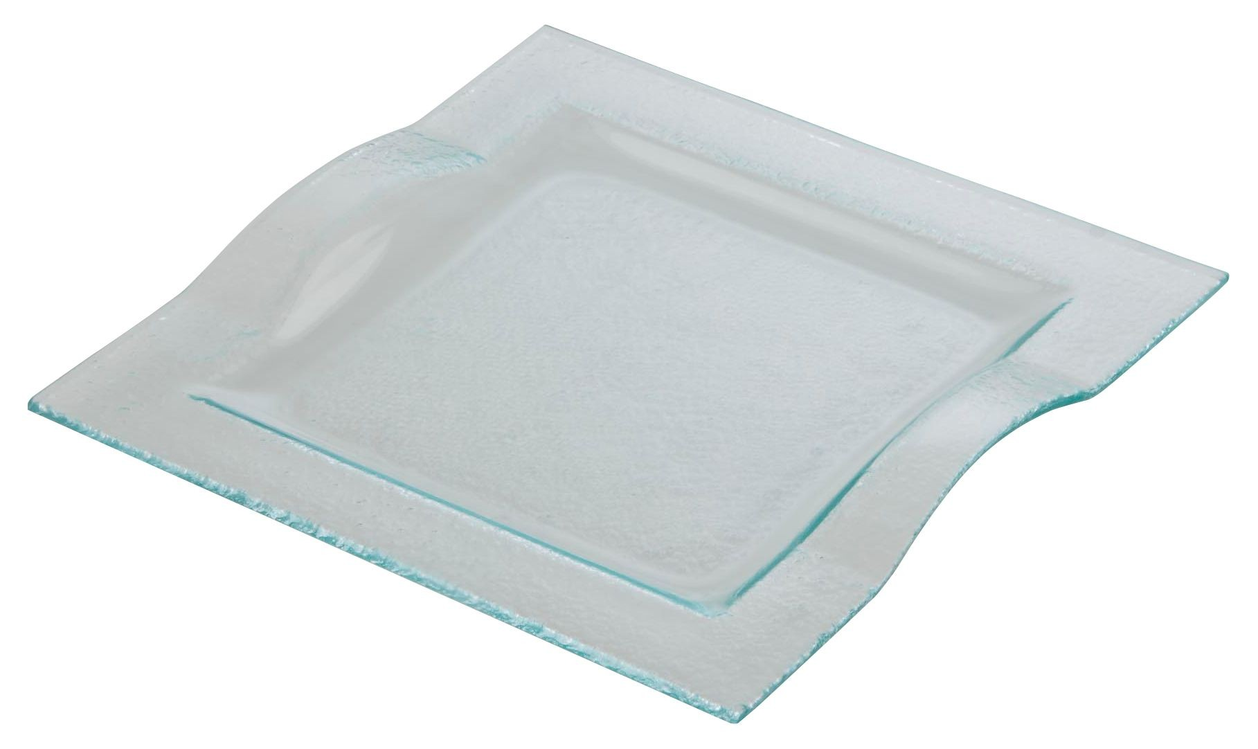Square Plate with Handles 29.6 x 29.3cm