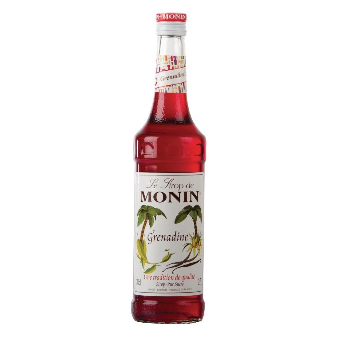 Grenadine Monin Cocktail Syrup 70cl Bottle