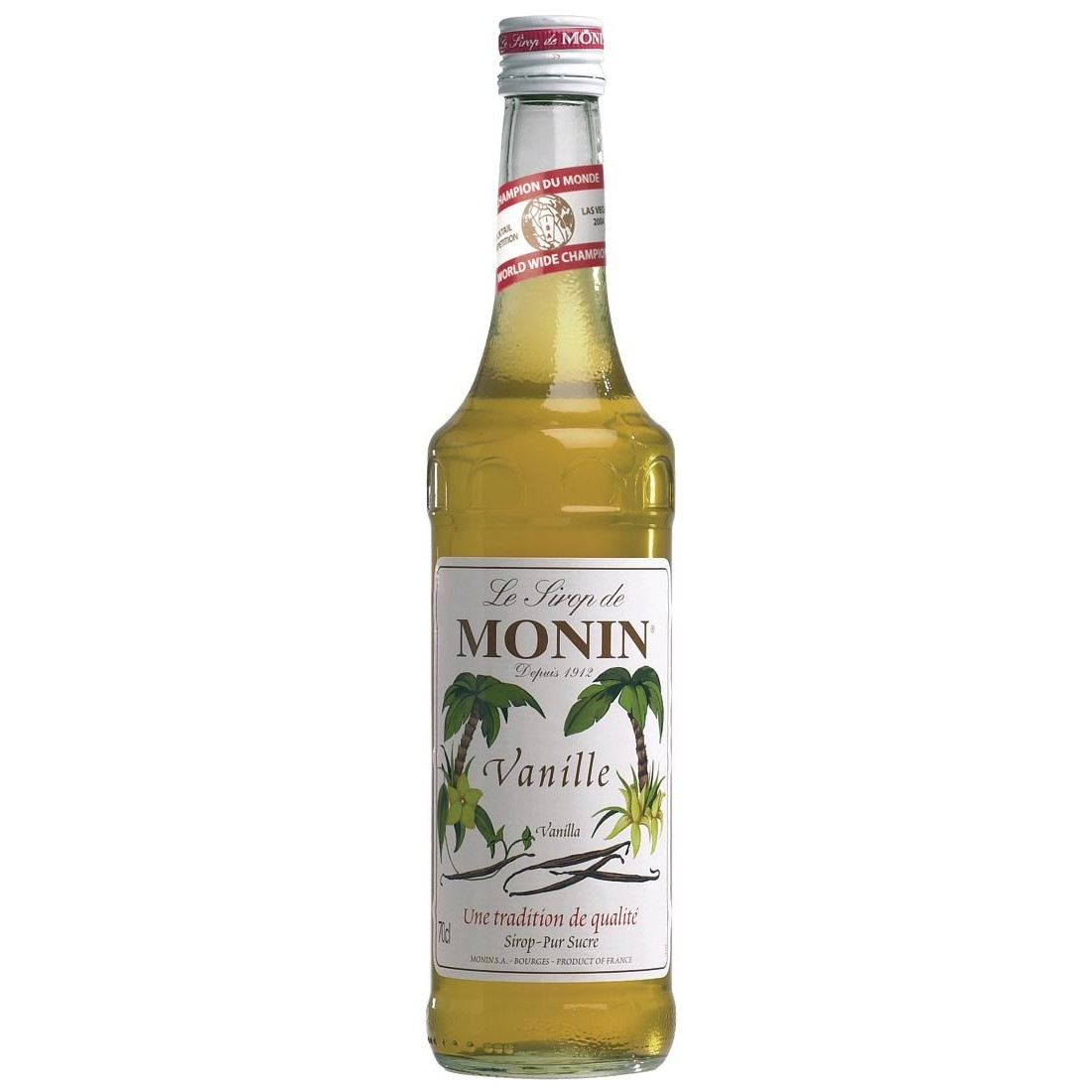 Vanilla Monin Cocktail Syrup 70cl Bottle