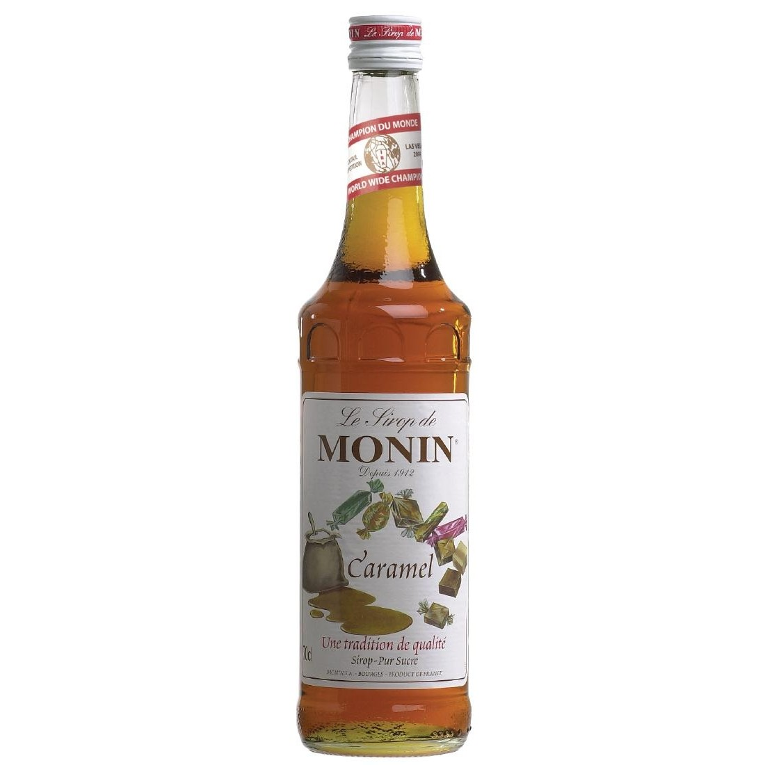 Caramel Monin Cocktail Syrup 70cl Bottle