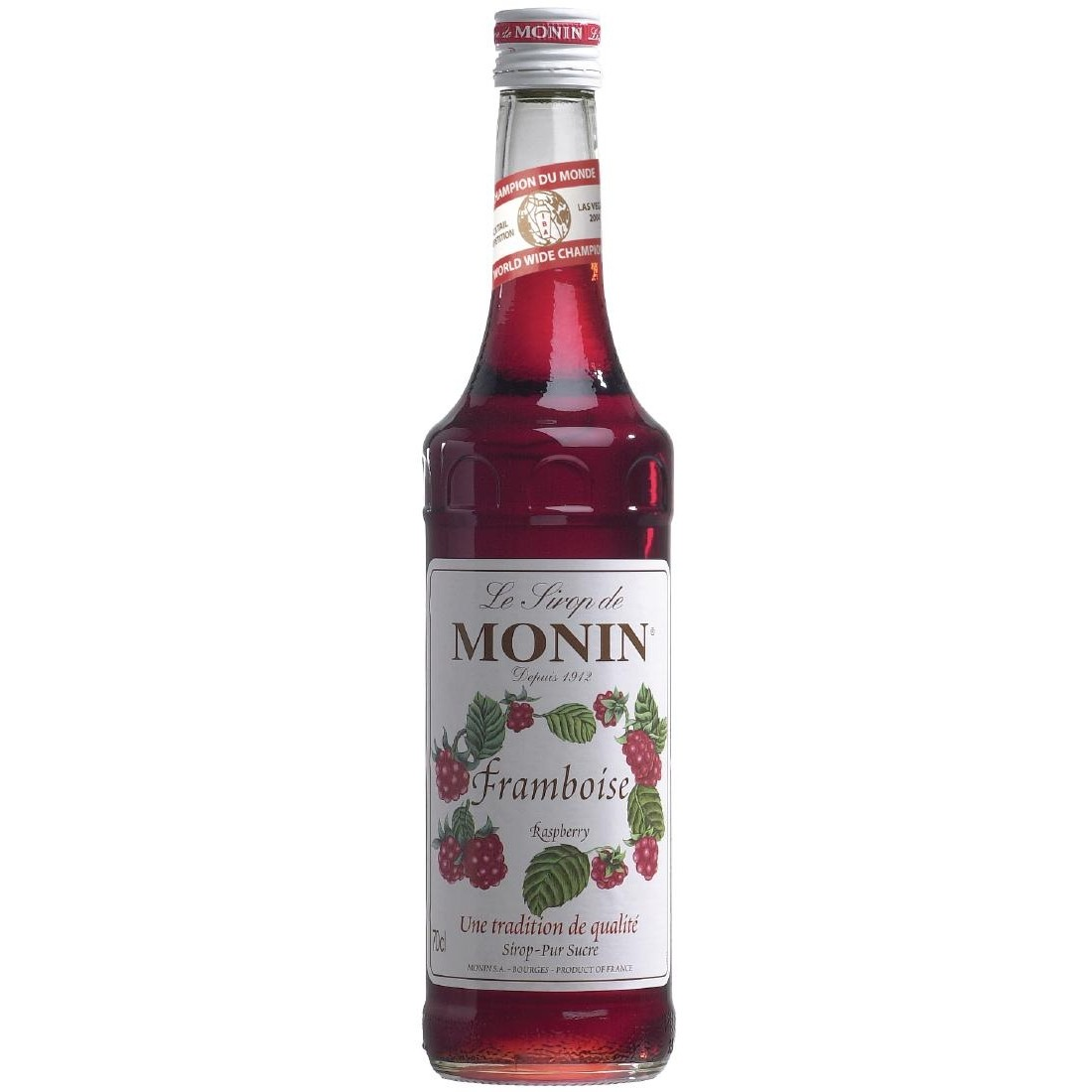 Raspberry Monin Cocktail Syrup 70cl Bottle