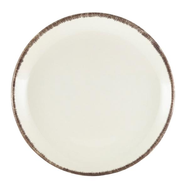 Terra Stoneware Coupe Plate Sereno Grey 19cm