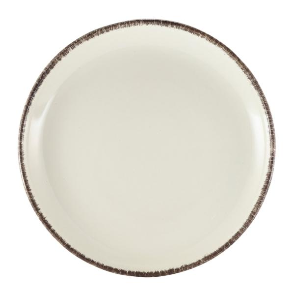 Terra Stoneware Coupe Plate Sereno Grey 24cm