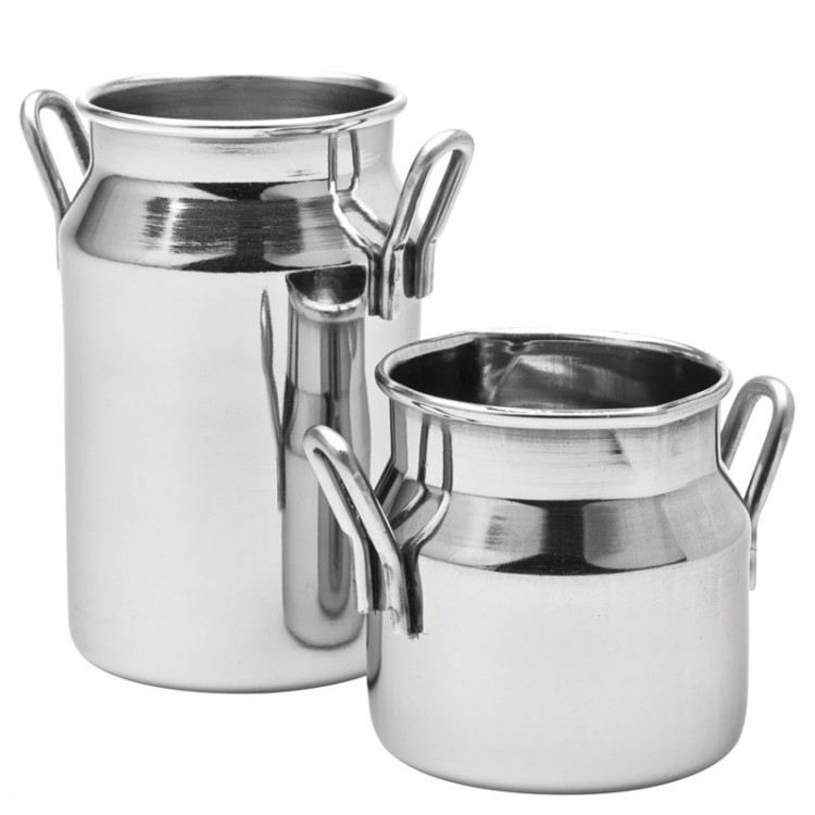 Stainless Steel Mini Milk Churn 5oz / 14cl