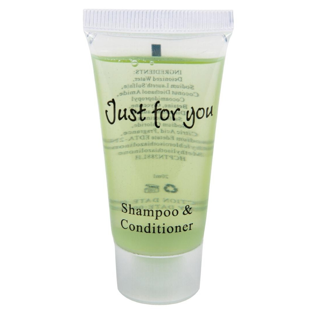 Just for You Shampoo and Conditioner 20ml