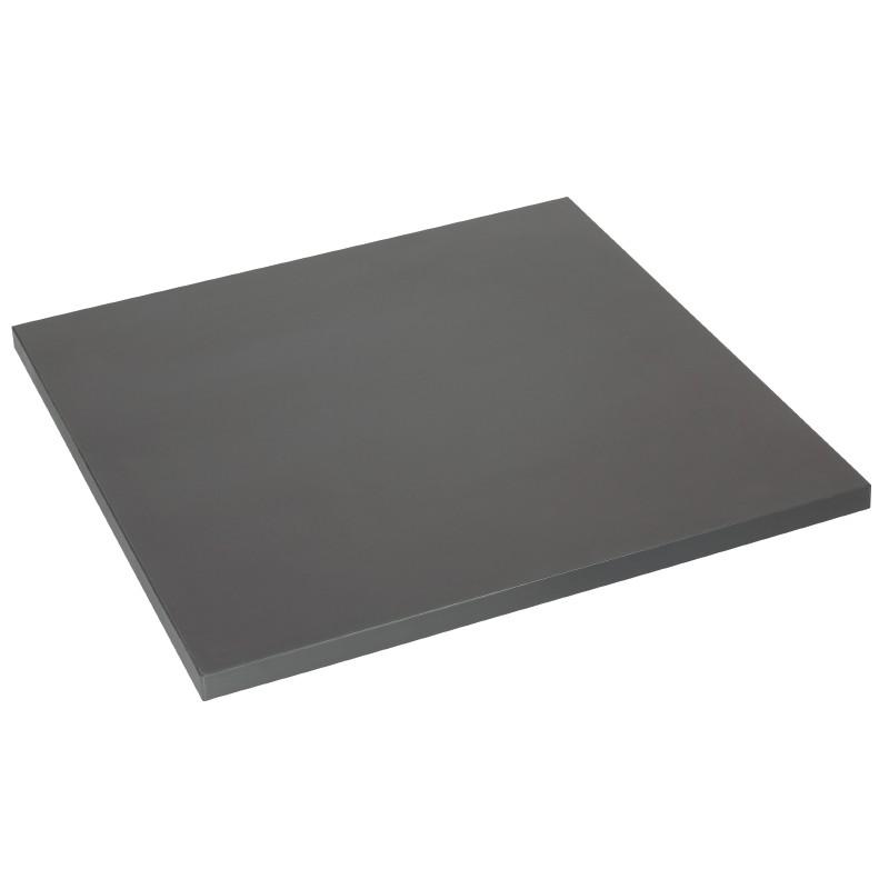Lamidur Square Table Top Anthracite 68cm