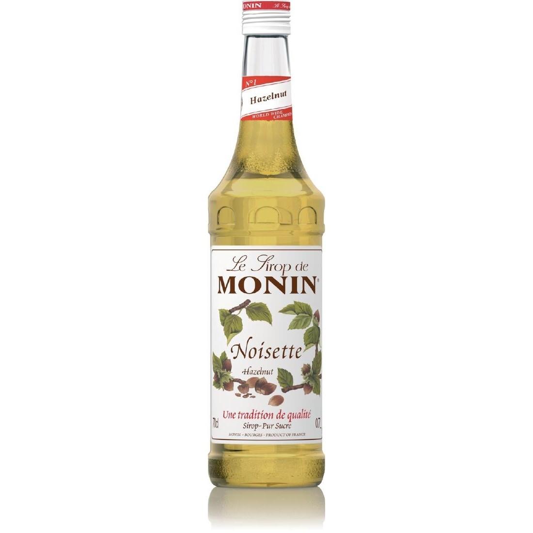 Monin Sugar Free Hazelnut Syrup 1ltr
