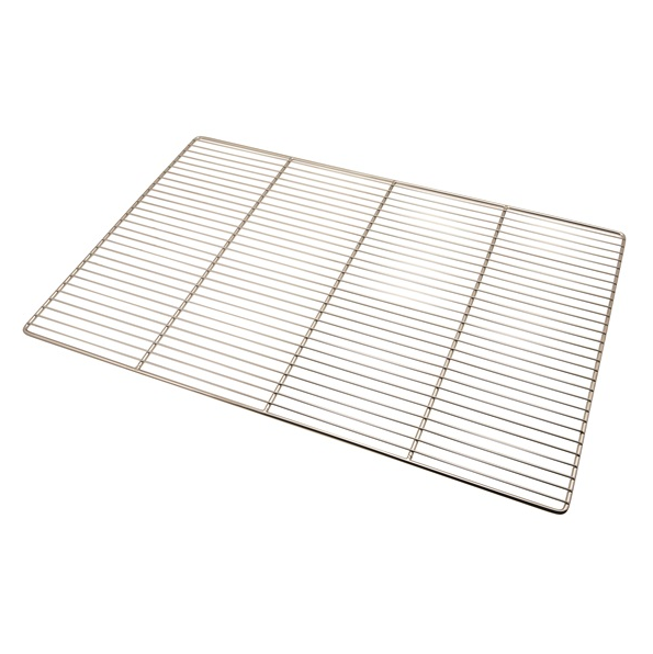 Genware Heavy Duty Stainless Steel Oven Grid 60 x 40cm