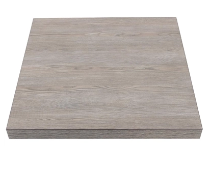 Bolero Square Table Top Vintage Wood 700mm