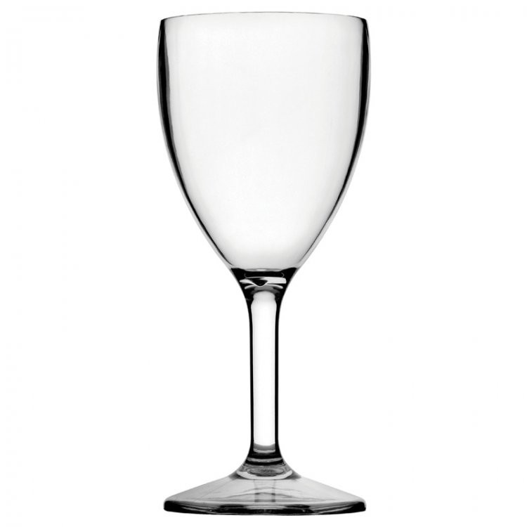Diamond Polycarbonate Wine 12oz LCE at 250ml