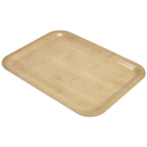 Rectangular Lightwood Birch Tray 460 x 340mm