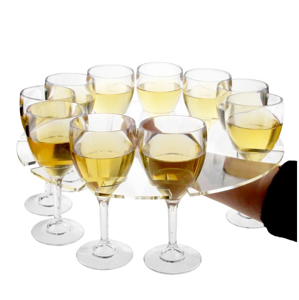 Wine Glass Serving Tray 400mm
