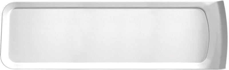 Cascade Melamine White GN 2/4 Lid / Platter 52 x16 x 2.4cm