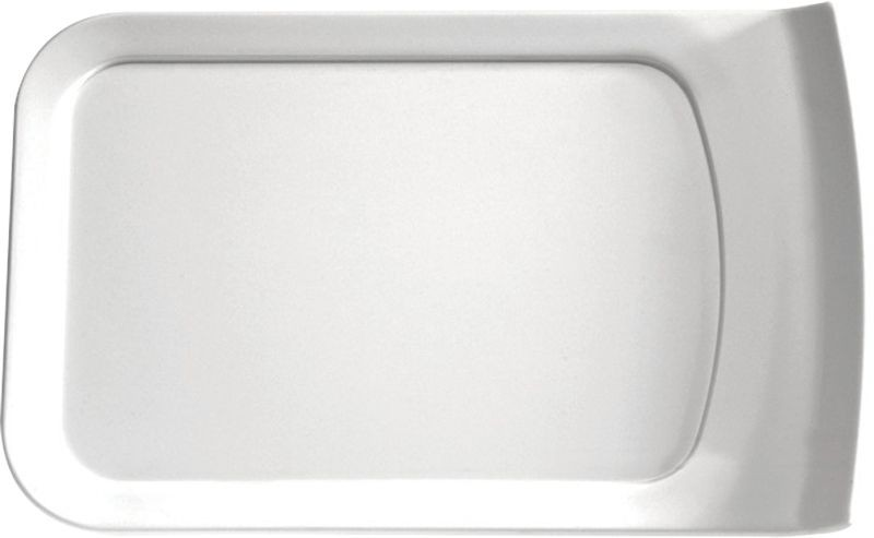 Cascade Melamine White GN 1/4 Lid / Platter 26 x 16 x 2.4cm