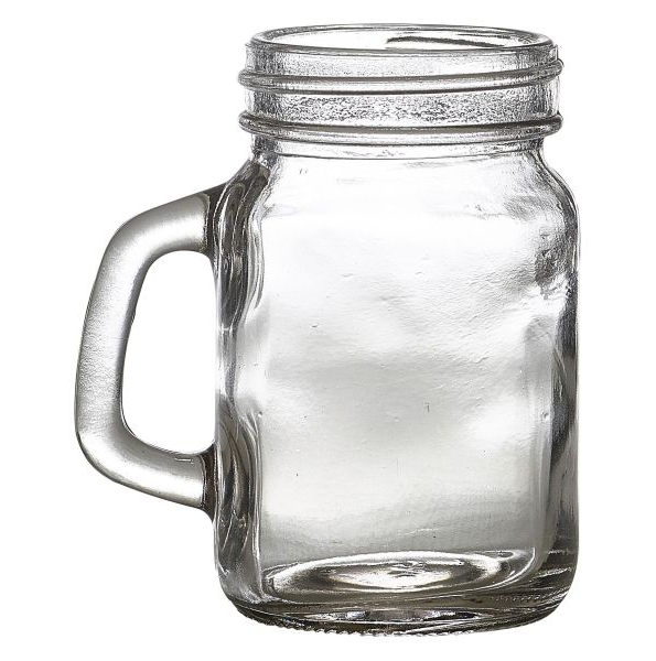 Glass Mini Mason Jar 12cl/4.25oz