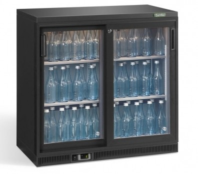 Gamko Maxiglass Noverta Bottle Cooler Double Sliding Door