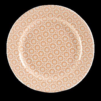 Churchill Moresque Prints Orange Plate 30.5cm