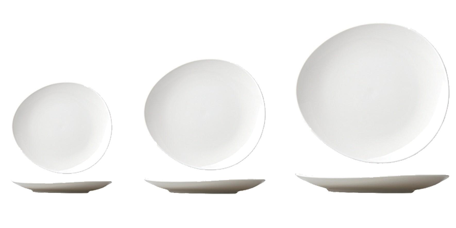 Elia Orientix Premier Bone China Pebble Plate 22cm