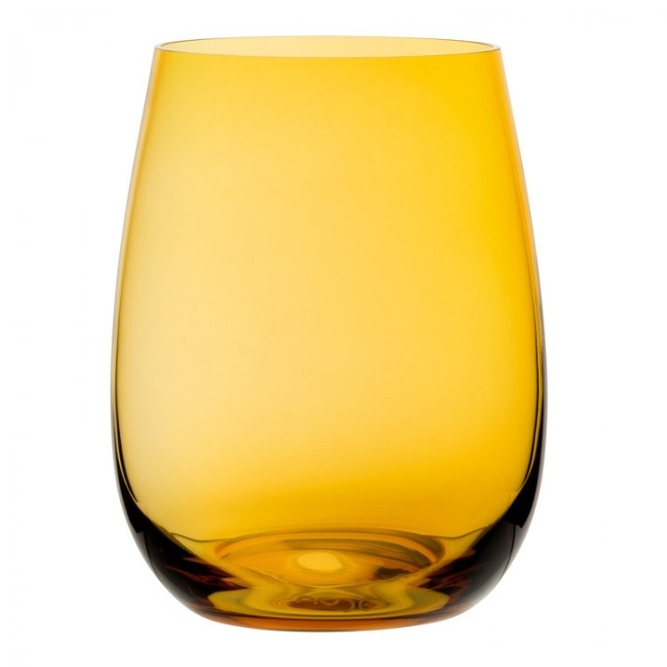 Nude Coloured U Glass Amber 15.5oz 44cl