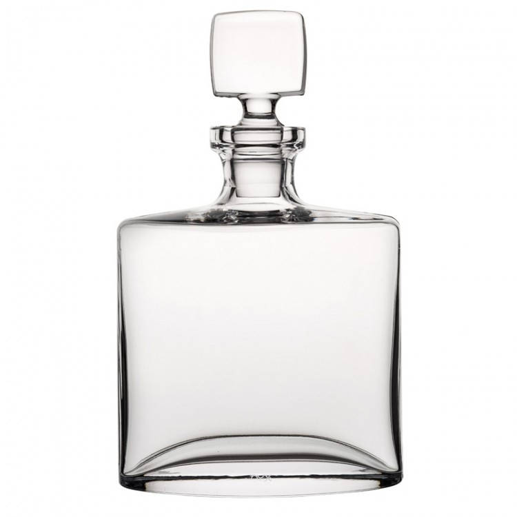 Nude Square Whisky Bottle 44oz (1.25L)