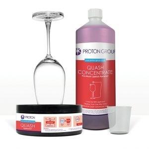 Quash® Glass Pre-Treatment System – Intro Pack