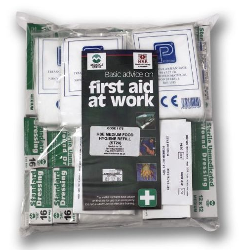 HSE Catering First Aid Kit Refill