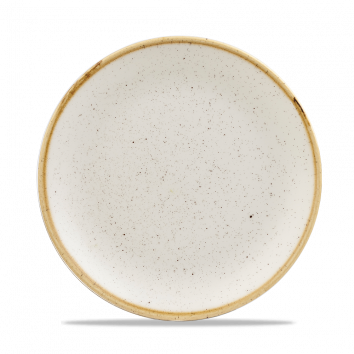 Churchill Stonecast Coupe Plate Barley White 16.5cm