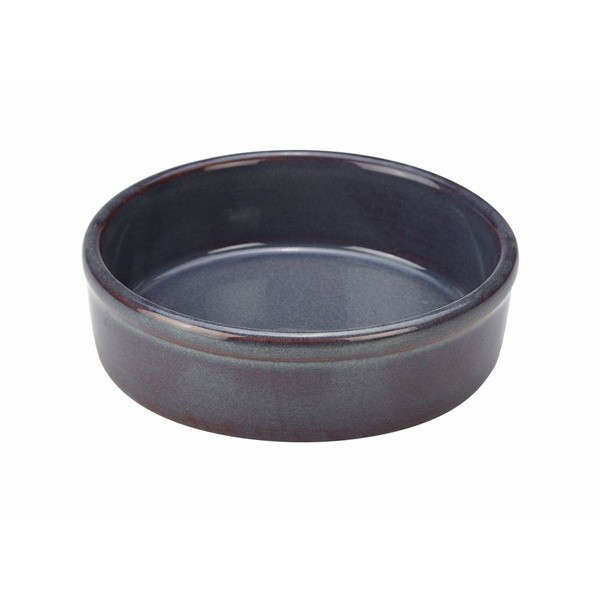 Terra Stoneware Tapas Dishes Rustic Blue 13 x 3.5cm