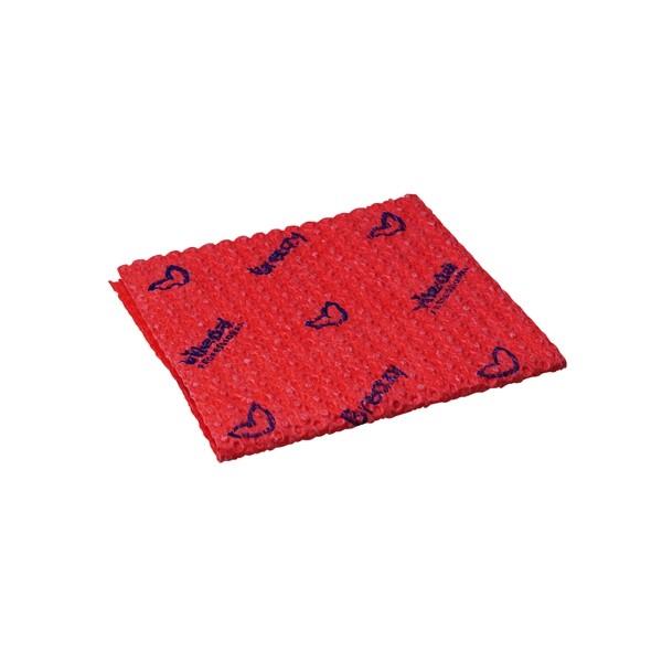 Vileda Breazy Cloth Red
