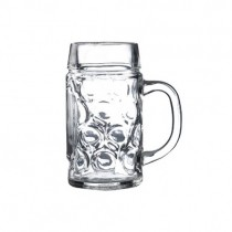 Beer Steins Glass 0.5L 24oz