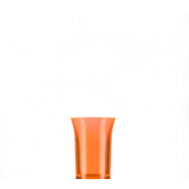 Econ Neon Orange Reusable Polystyrene Shot Glasses CE 25ml