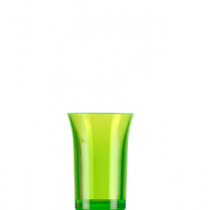 Econ Neon Green Reusable Polystyrene Shot Glasses CE 35ml