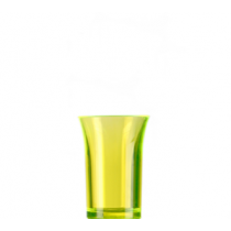 Econ Neon Yellow Reusable Polystyrene Shot Glasses CE 35ml