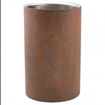 Rust Effect Wine Cooler 12cm x 20cm