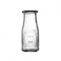 Heritage Milk Bottle (No Lid)  22cl 7.5oz  Box of 24