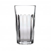 Paneled Beverage Glass Tumblers 35cl 12oz