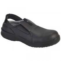 Toffeln Safety Lite Clogs Black